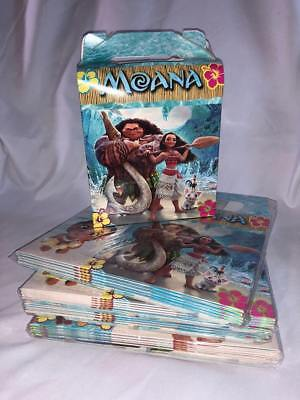 Disney Moana Party Favor Treat Box *10Ct* Loot Goody Candy Bags Party Supplies (Party Candy Bags)