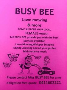 COME SUPPORT YOUR WESTERN SYDNEY FEMALE MOWER Mount Druitt Blacktown Area Preview