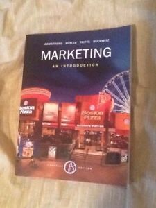 Marketing an Introduction 6th edition Thunder Bay *Reduced*