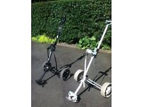 2 golf pull carts in good working order. Sell together or will separate.