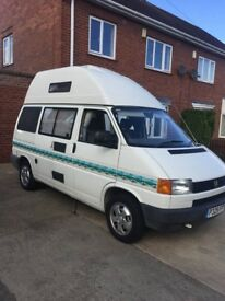 VW T4 Transporter Holdsworth Villa High Top Camper,2.4 D, 5 speed manual