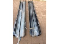 Aluminium Guttering,Wide Profile, Heavy Duty,New/.Unused.