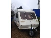 Fleetwood Garland 165/5 berth touring caravan in very good condition