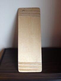 Wooden sliding board