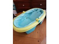 Inflatable baby bath - portable