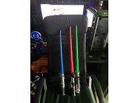 3 Star Wars Lightsabers