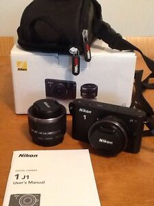 NIKON 1 J1 with 2 lenses Mount Nelson Hobart City Preview