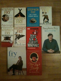 10 Excellent Stephen Fry Books