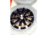 Citroen/Peugeot refurbished 14inch alloy wheels