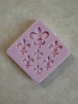 Fleur de Lis Silicone Mold for Cake Decorating, Fondant, Gum Paste