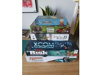 Board and Card Games - XCOM, Risk, MTG, Five Rings, Blood Bowl, Citadels