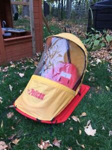 Infant/Toddler Sled with Weather Shield