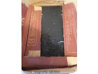 11 x Cubica Negro (Black) Wall Tiles 200x330,