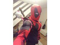 deadpool mens fancy dress costume
