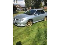 Subaru Impreza 2.0 R sport 5 door saloon silver part service history, recently serviced 1year MOT