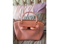 Pink Ted baker bag with tags never used