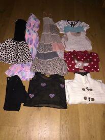 Large Bundle Girls Clothes 8-9yrs