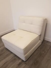 Dwell sofa chair - cream white