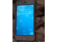 iPhone 5 white 16 g