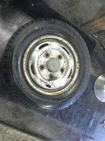 Ford transit wheels with tyres 195/70 r15