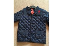 BOYS LIVERPOOL JACKET SIZE 5-6 YEARS NEW WITH TAGS RRP £35.00 SMART LOOKING BARBOUR STYLE