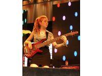Electric bass teacher