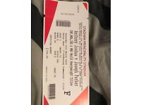 Anthony Joshua -amazing floor seat tickets x two