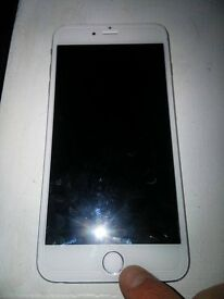 iPhone 6 Plus 16GB Silver Factory Unlocked Mint Condition