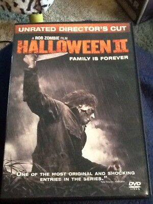 Halloween II - DVD Unrated Version - Rob Zombie film  Classic!](Filme Halloween Ii)