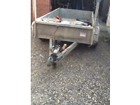 Indespension twin axle 8x4 trailer