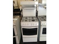 white new world 50cm eyelevel grill gas cooker