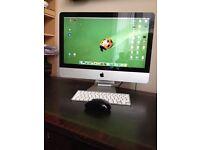 "Apple mac 21.5"" screen 4GB ram 500 GB memory"