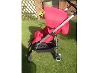 Maxi-Cosi Mila Red with raincover, cosytoes and car seat adaptors REDUCED