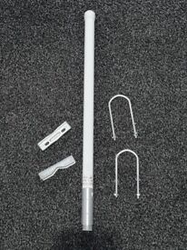 HYS Amateur Dual-Band SO239 17 inch Antenna with VHF 144 & UHF 430MHz