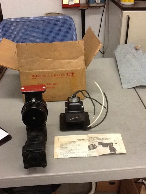 McDonnell & Miller Electric Water Valve with Transformer