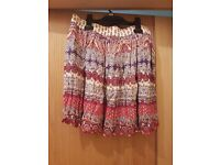 Newlook floral print skater skirt - size 12 - BRAND NEW WITH TAGS