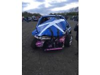 Scrap cars wanted for racing
