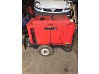 Gen Set Diesel Generator 6KVA MG 6000 SS-Y 240v/110v