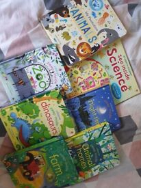 Bundle of Usborne peep inside books