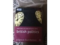 British politics Palgrave foundations