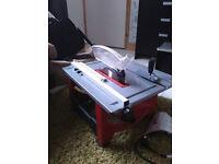 Lumberjack table saw !! LIKE NEW !!