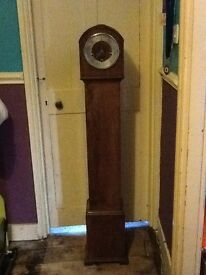 Granddaughter clock, working order and chiming