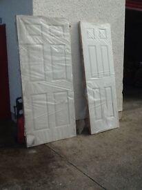 11 White Doors