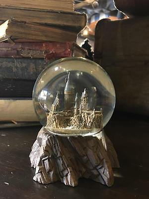 Wizarding World Of Harry Potter Hogwarts Castle Snow Globe Round