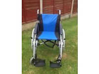 Excel-g lite pro wheelchair (with stablizers)