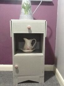 Grey Upcycled cabinet