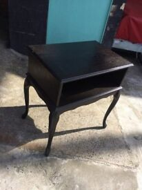 Side table, with storage for sale