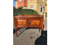 ANTIQUE DRESSING TABLE/CUPBOARDS