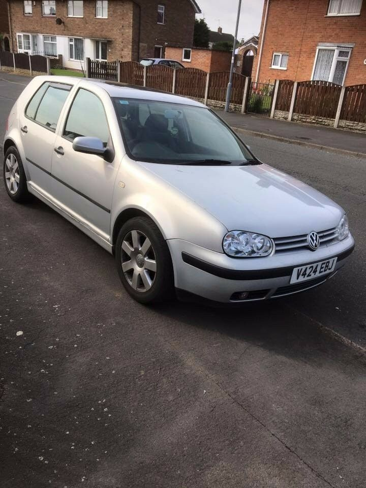 vw golf 1.6 2000 model breaking