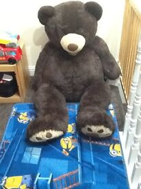 Very large teddy 134 cm in length excellent condition